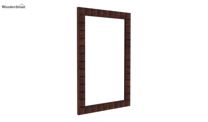 Morse Mirror With Frame (Walnut Finish)-1
