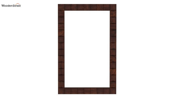 Morse Mirror With Frame (Walnut Finish)-2