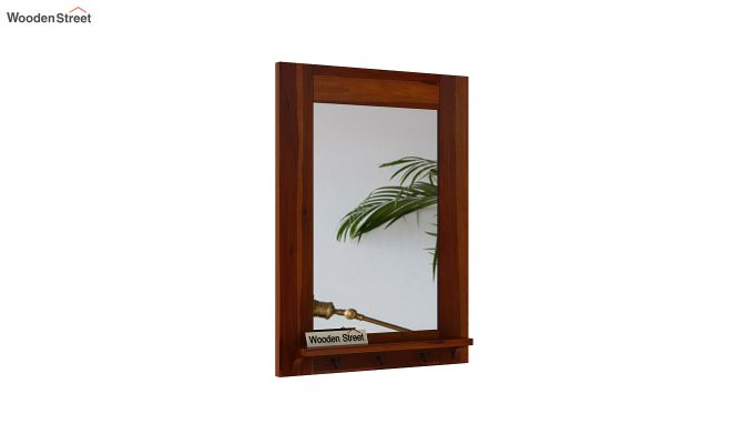 Panama Mirror With Frame (Honey Finish)-2