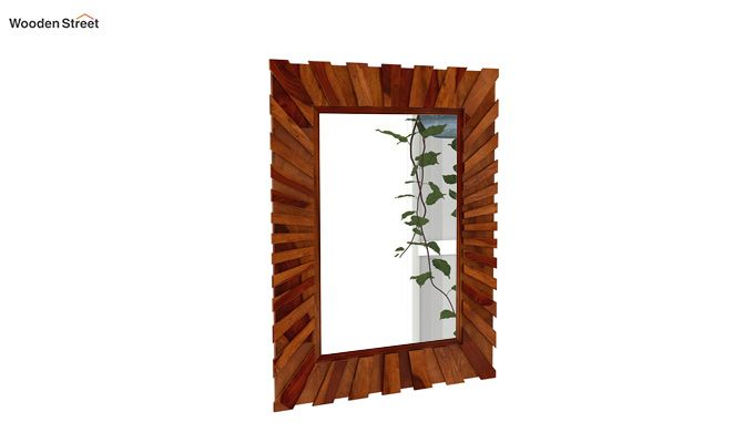 Persian Mirror With Frame (Honey Finish)-2