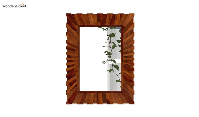 Persian Mirror With Frame (Honey Finish)-3