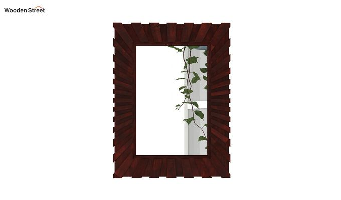 Persian Mirror With Frame (Mahogany Finish)-3