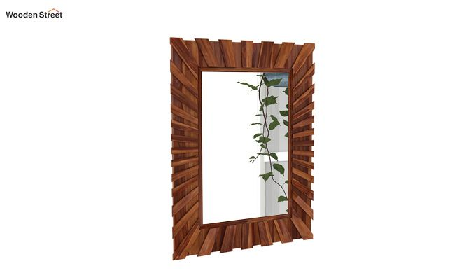 Persian Mirror With Frame (Teak Finish)-2