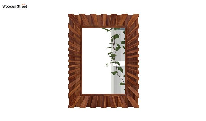 Persian Mirror With Frame (Teak Finish)-3