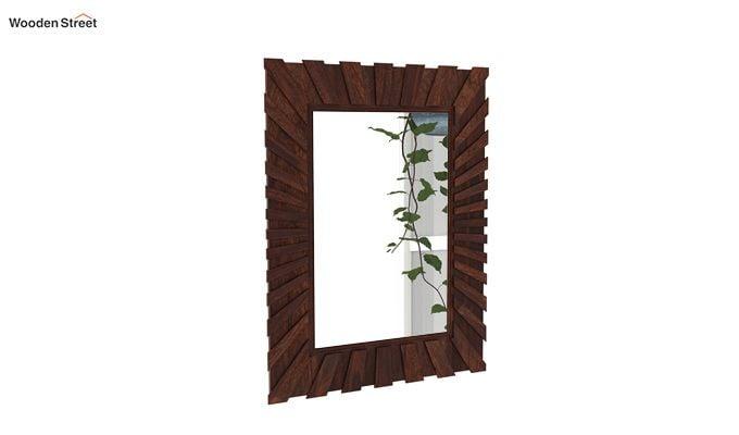 Persian Mirror With Frame (Walnut Finish)-2