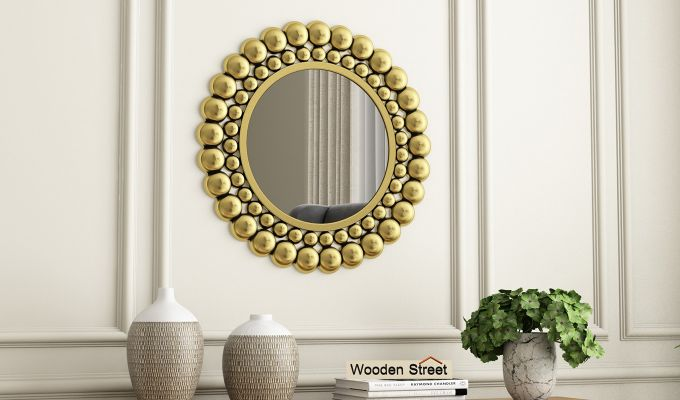 Scalo Metal Mirror with Frame-1