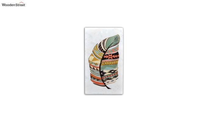 Tribal Art Marble Wall Accent-2