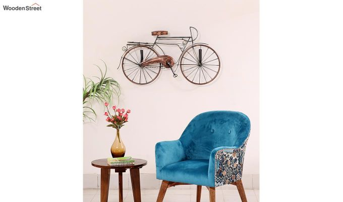 Bicycle Wall Hanging (Brown Color)-2