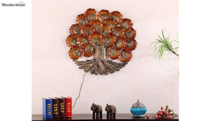 Deep Roots Tree Wall Hanging (Multi Color)-2