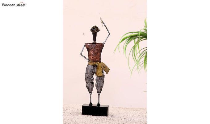 Five Performers Figurine Set of 5  (Multi Color)-2