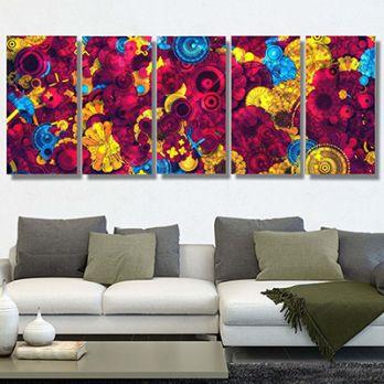 Latika Metal Wall Hanging (Multi Color)