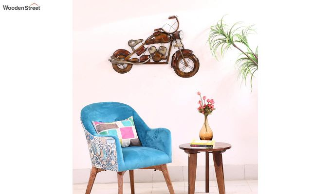 Motorbike Wall Hanging (Brown Color)-2