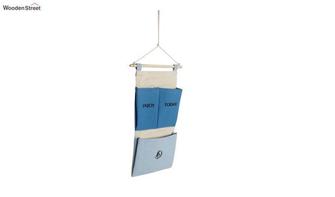 Multipurpose 3 Pocket Multicolour Wall Hanging Organizer-3