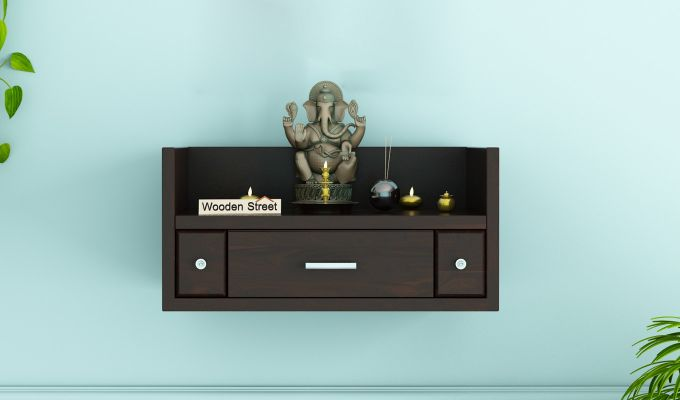 Ananta Home Temple (Walnut Finish)-1