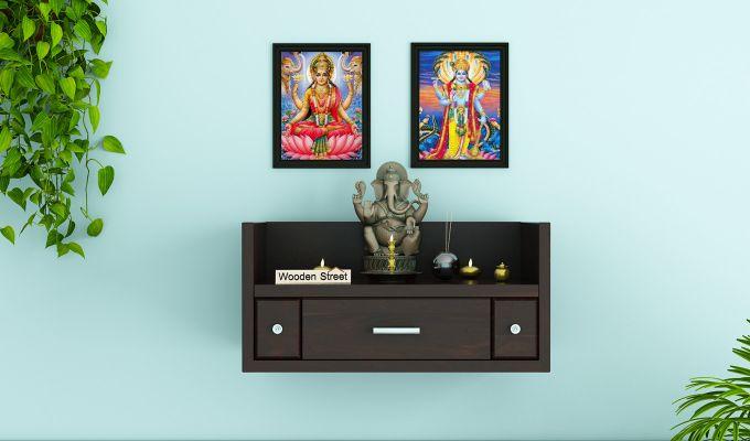 Ananta Home Temple (Walnut Finish)-1