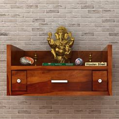 Ananta Home Temple (Honey Finish)
