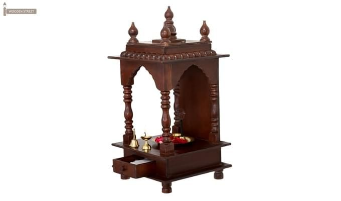 Anjalika Home Temple (Mahogany Finish)-1