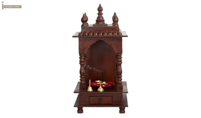 Anjalika Home Temple (Mahogany Finish)-3
