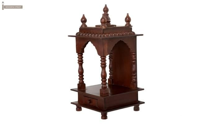 Anjalika Home Temple (Mahogany Finish)-6