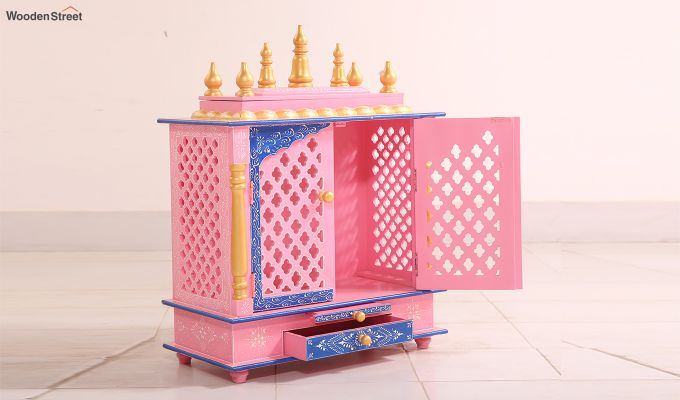Baby Pink Home Temple-1