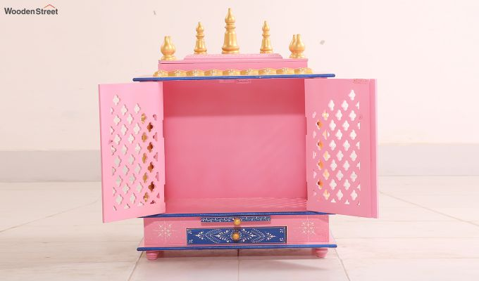 Baby Pink Home Temple-5