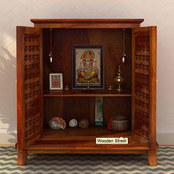 Bhagavati Home Temple (Honey Finish)