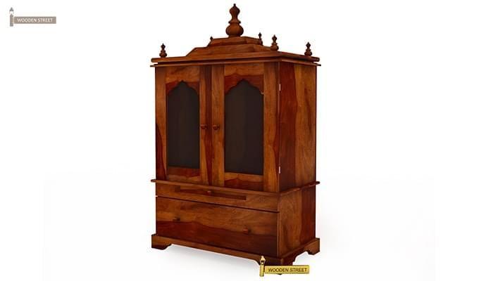 Bhagirathi Home Temple (Honey Finish)-3