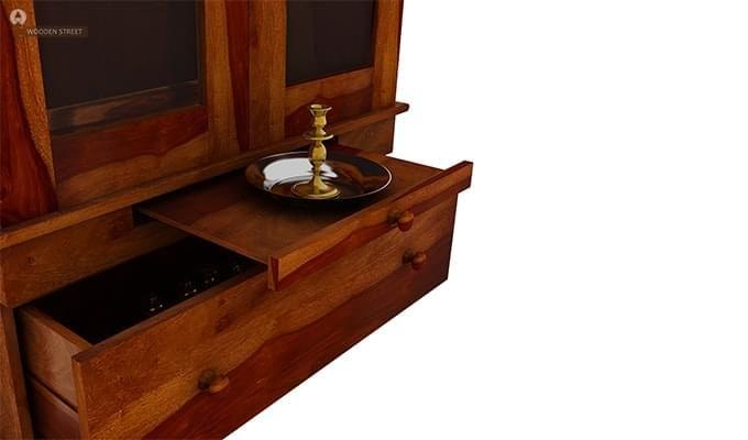 Bhagirathi Home Temple (Honey Finish)-5