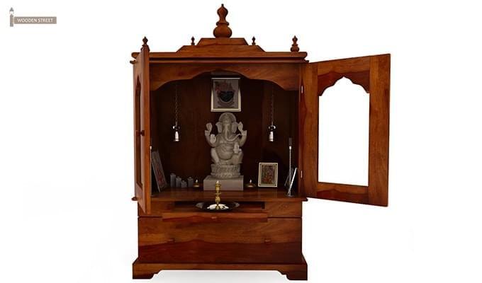 Bhagirathi Home Temple (Honey Finish)-6