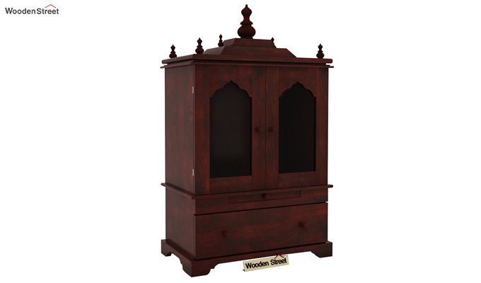 Bhagirathi Home Temple (Mahogany Finish)-2