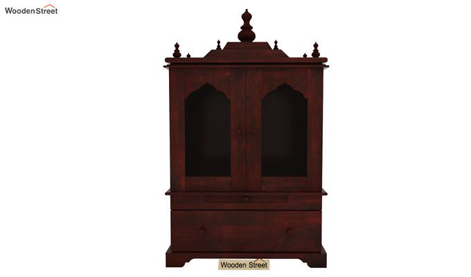 Bhagirathi Home Temple (Mahogany Finish)-3