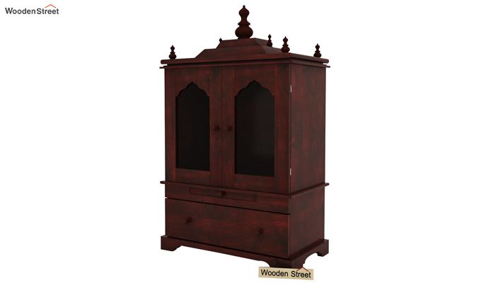 Bhagirathi Home Temple (Mahogany Finish)-4