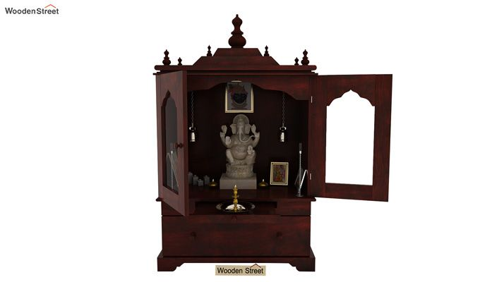 Bhagirathi Home Temple (Mahogany Finish)-1