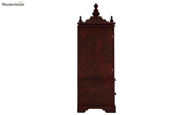 Bhagirathi Home Temple (Mahogany Finish)-5