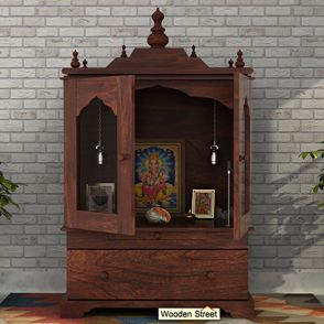 Pooja Mandir Online India Cabinet Design For Living Room