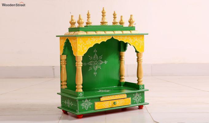 Bright Green Home Temple-1