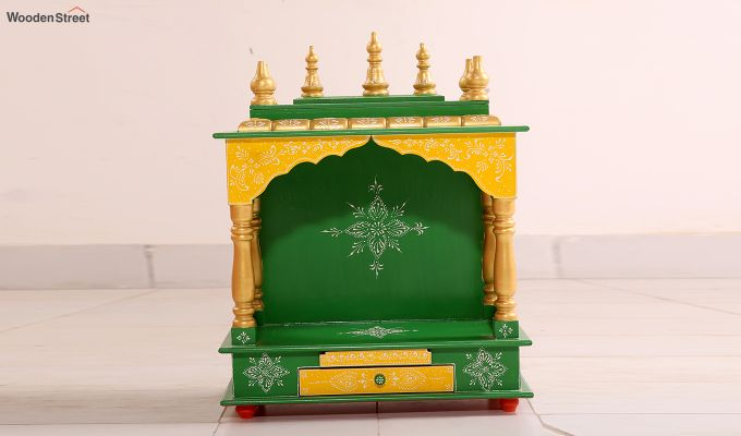 Bright Green Home Temple-2