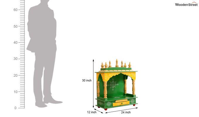 Bright Green Home Temple-4