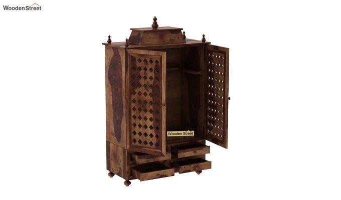 Maurya Home Temple (Teak Finish)-4
