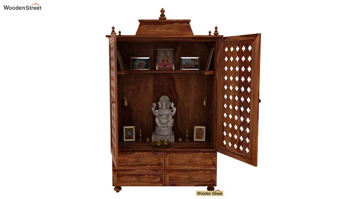 Maurya Home Temple (Teak Finish)-2