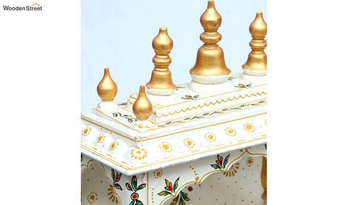 Multicolour Sheesham Wood Home Temple-3