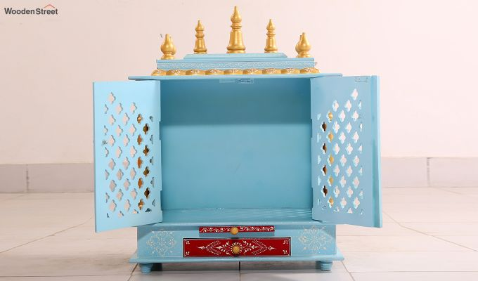 Pastel Blue Home Temple-3