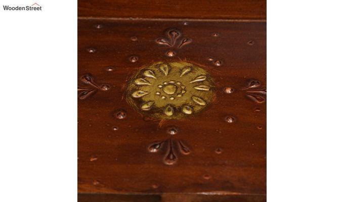 Pine Wood Copper Pooja Mandir-5