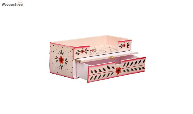 Pink Pine Wood Home Temple-3