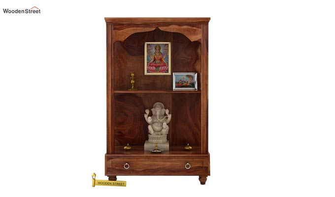 Riddhi Home Temple (Teak Finish)-1