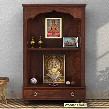 Buy Pooja Mandir With Drawer