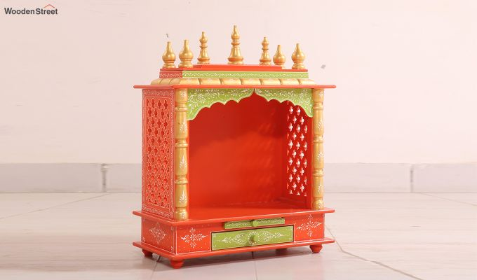 Saffron Home Temple-1
