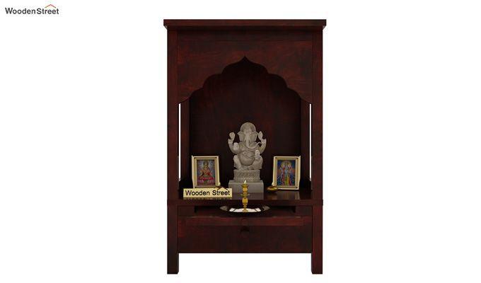 Sanjeevani Home Temple (Mahogany Finish)-1