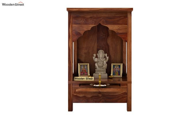 Sanjeevani Home Temple (Teak Finish)-1