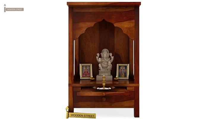 Sanjeevani Home Temple (Honey Finish)-2